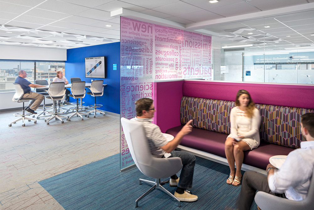 Alnylam Pharmaceuticals Interior Design Renovations