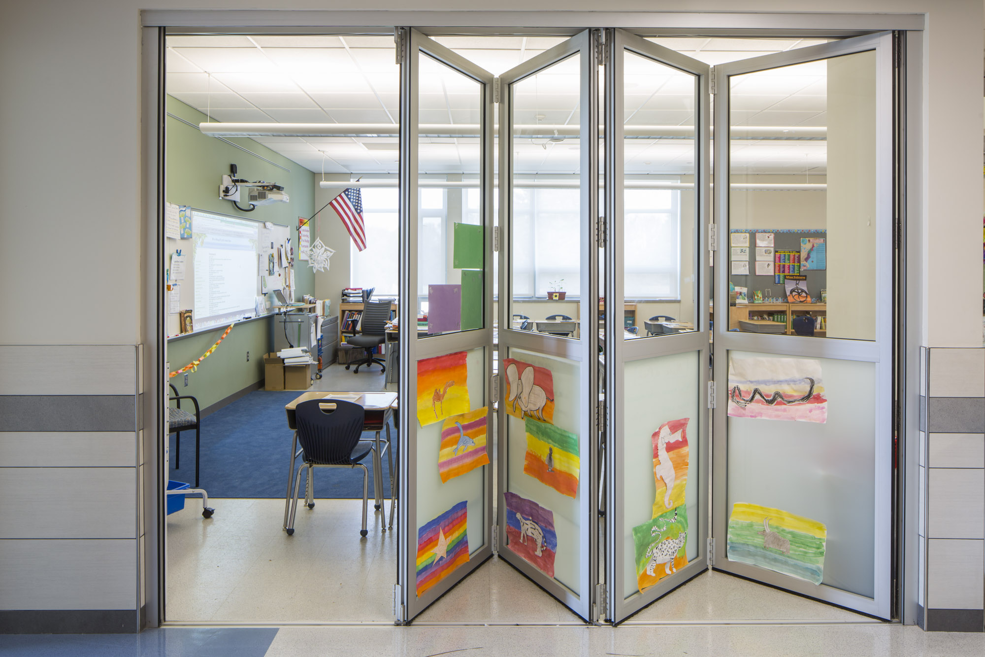 SMMA Classroom Design for Bancroft Elementary