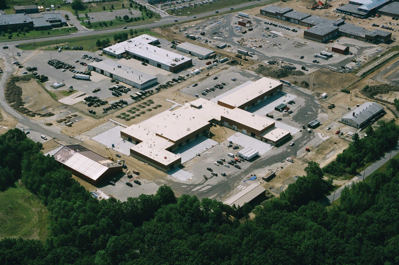Aerial of Fort Devens
