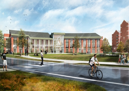 SMMA Rendering of Providence College School of Business