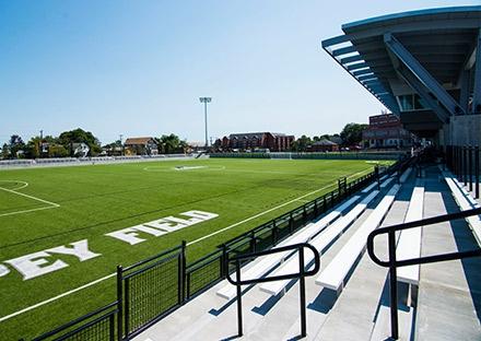 WPI New Elevated Athletic Fields & Parking Garage | SMMA