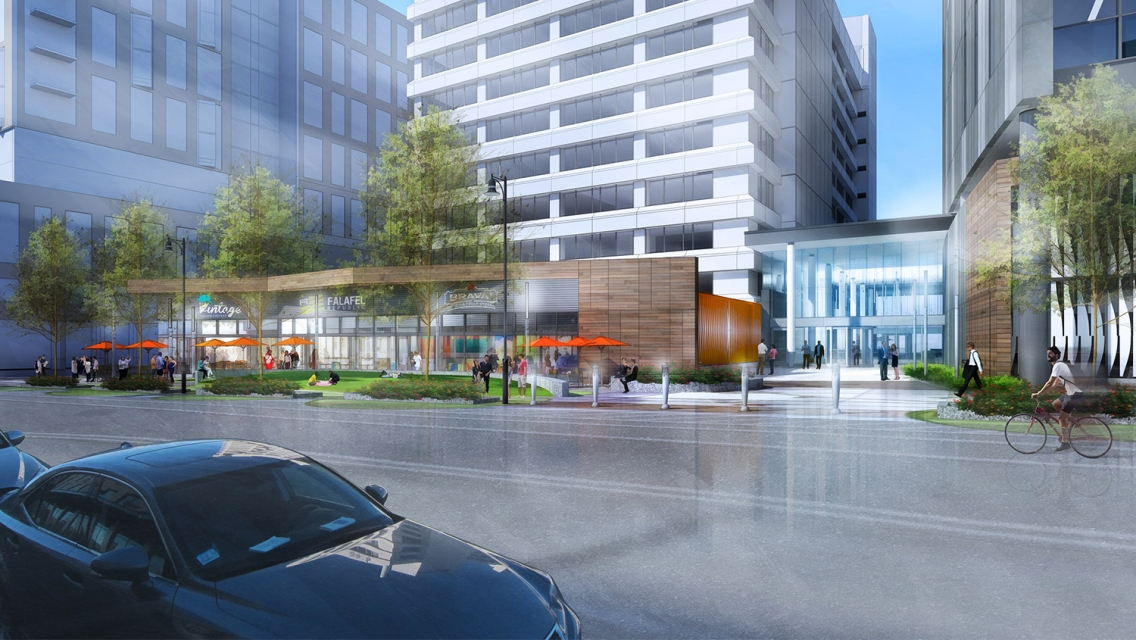 321 Harrison Avenue Boston South End Office Building Site Design