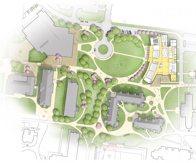 Siteplan for School of Business