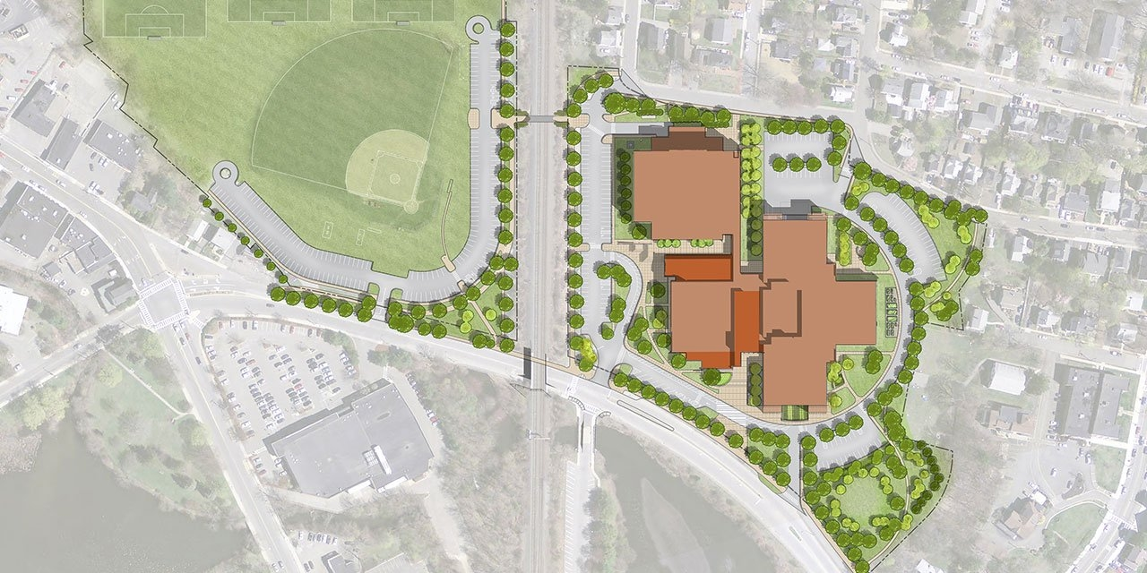 Winchester High School Site Plan